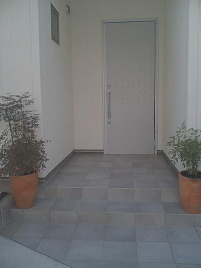玄関ポーチ 施工例