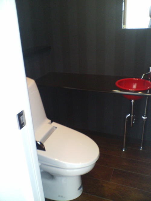 トイレ 手洗い器 施工例